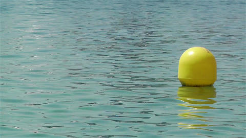 Buoy in the Water 2 Footage