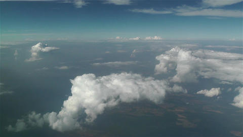 Clouds Aerial 1 Stock Video Footage