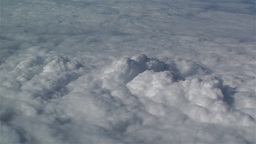 Clouds Aerial 5 Stock Video Footage
