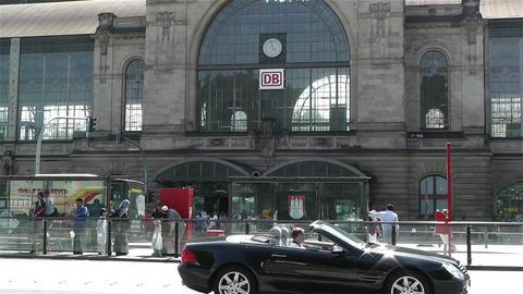 Dammtor Railway Station Hamburg Germany 2 Stock Video Footage