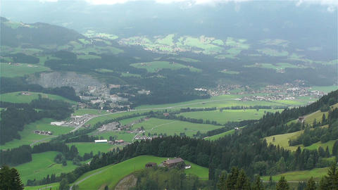 European Alps Kitzbuhel Austria 22 Stock Video Footage