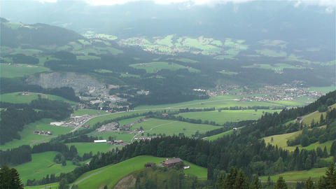 European Alps Kitzbuhel Austria 22 stock footage