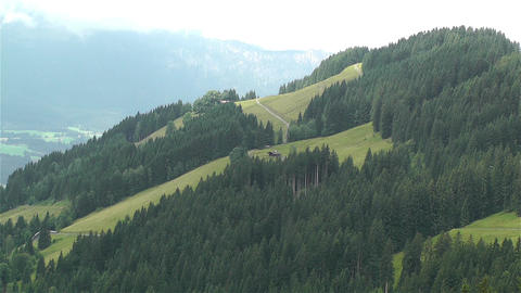 European Alps Kitzbuhel Austria 24 stock footage