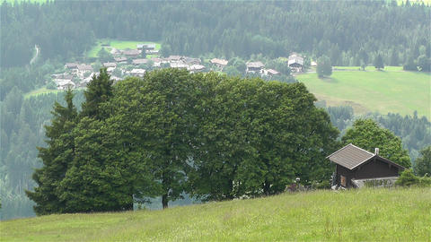 European Alps Kitzbuhel Austria 51 stock footage