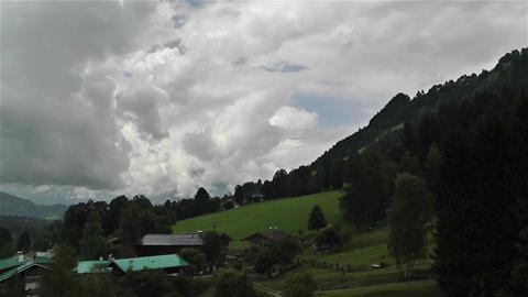 European Alps Kitzbuhel Austria Aerial 2 Footage