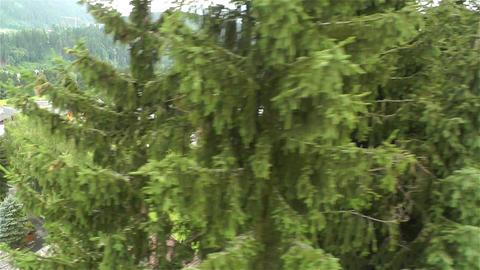 European Alps Kitzbuhel Austria Aerial 4 Footage