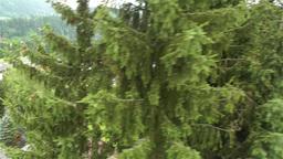 European Alps Kitzbuhel Austria Aerial 4 Stock Video Footage
