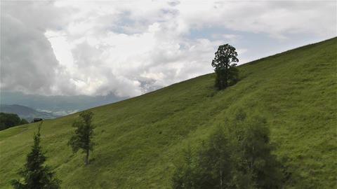 European Alps Kitzbuhel Austria Aerial 16 Footage