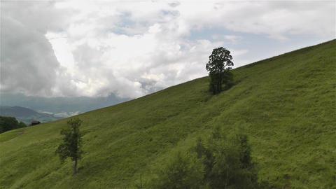 European Alps Kitzbuhel Austria Aerial 16 Stock Video Footage