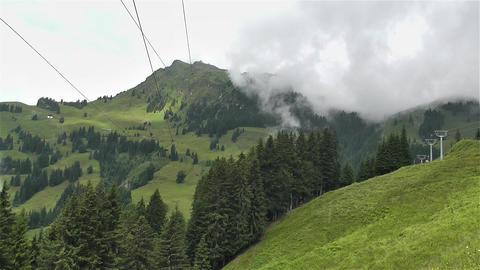 European Alps Kitzbuhel Austria Aerial 20 Stock Video Footage