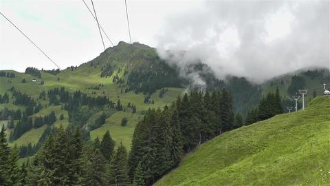 European Alps Kitzbuhel Austria Aerial 20 Footage