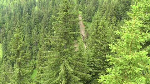 European Alps Kitzbuhel Austria Aerial 36 Stock Video Footage