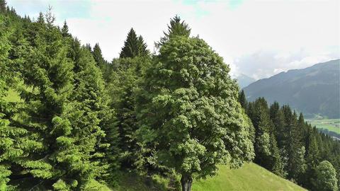 European Alps Kitzbuhel Austria Aerial 52 Stock Video Footage