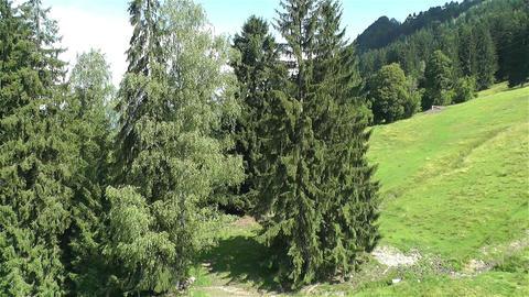 European Alps Kitzbuhel Austria Aerial 56 Stock Video Footage