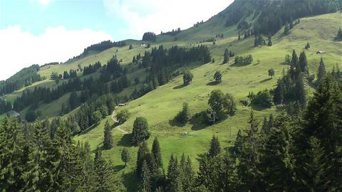European Alps Kitzbuhel Austria Aerial 66 Stock Video Footage