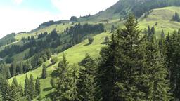 European Alps Kitzbuhel Austria Aerial 66 Footage