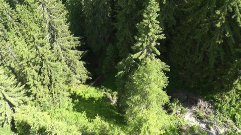 European Alps Kitzbuhel Austria Aerial 68 Footage
