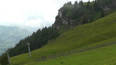 European Alps Kitzbuheler Horn Austria 3 Footage