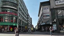 Hamburg Downtown Germany 2 Stock Video Footage
