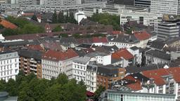 Hamburg Germany Aerial 22 Stock Video Footage