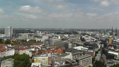 Hamburg Germany Aerial 26 Footage
