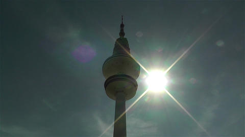 Heinrich Hertz Tower Hamburg Germany 1 Footage