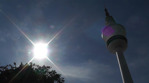 Heinrich Hertz Tower Hamburg Germany 3 Footage