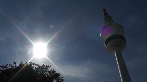 Heinrich Hertz Tower Hamburg Germany 3 Stock Video Footage