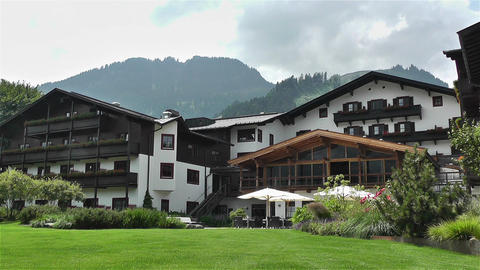 House in Austria Tirol 2 Stock Video Footage