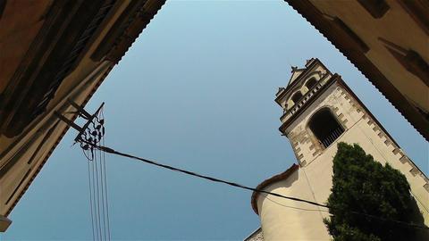 Mediterranean Buildings 2 pan Footage