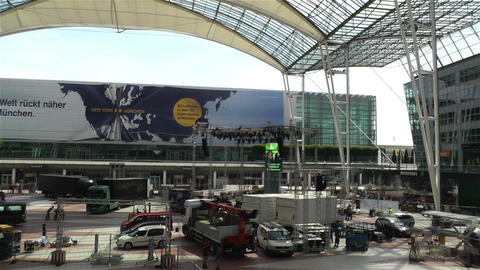 Munich Airport Germany Exterior 5 Footage