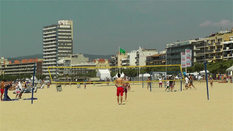 Palamos Beach Costa Brava Spain 16 Footage