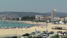 Palamos Beach Costa Brava Spain 18 Stock Video Footage