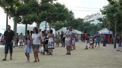 Palamos Beach Costa Brava Spain 22 Stock Video Footage