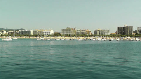 Palamos Costa Brava Catalonia Spain 13 Stock Video Footage