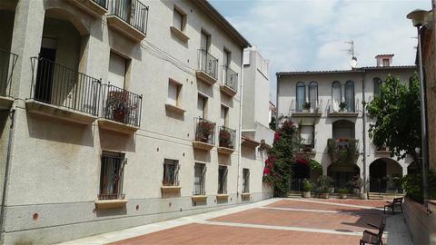 Palamos Street Costa Brava Catalonia Spain 13 Stock Video Footage