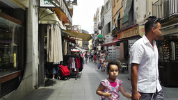 Palamos Street Costa Brava Catalonia Spain 15 Footage