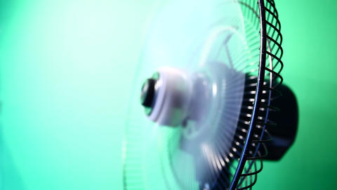 Electric Fan Stock Video Footage