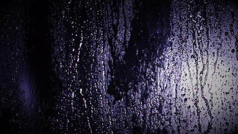 Rain at Night Stock Video Footage