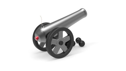 Cannon Stock Video Footage