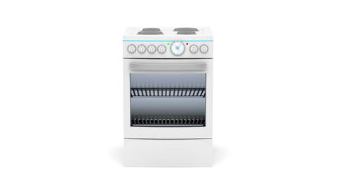 Electric cooker Stock Video Footage