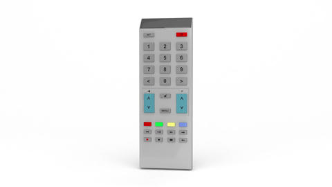 Gray remote control Animation