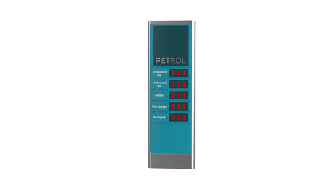 Fuel prices Animation