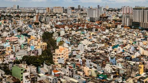 SAIGON CITYSCAPE TIMELAPSE Footage