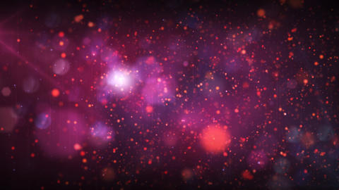 Stars background with flares in and out of focus, Stock Video Footage