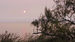Sunrise from shore Stock Video Footage