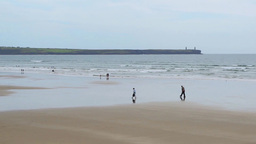 Tramore Beach Footage