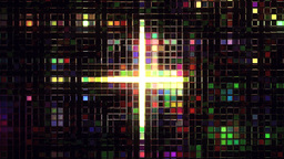 Abstract squares becoming smaller Stock Video Footage