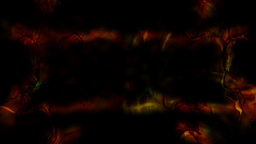 Cavemen painting light flash experimental loop Stock Video Footage