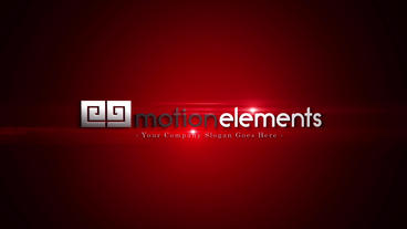 Red Logo Bumper After Effects Template
